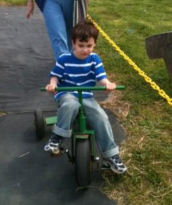 Tyler really starts cruising now!