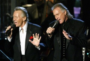 RIGHTEOUS BROTHERS PERFORM AT ROCK AND ROLL HALL OF FAME INDUCTION CEREMONY